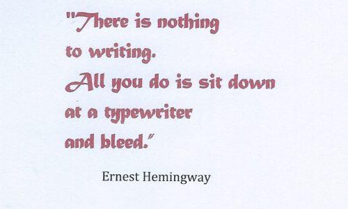15 – Piccoli sogni simili  –  Sangue, scrittura, …  esami del sangue , non passare gli esami…